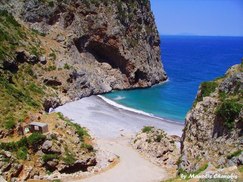 5 Best Beaches In Central Euboea Evia Island Greece Foxhouse